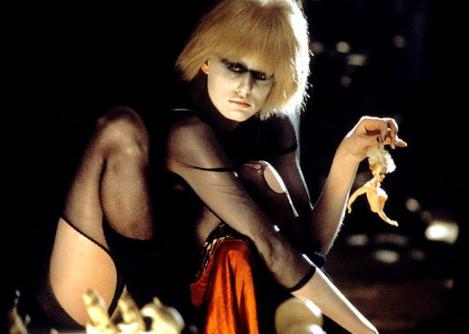 The Replicant Pris in Blade Runner
