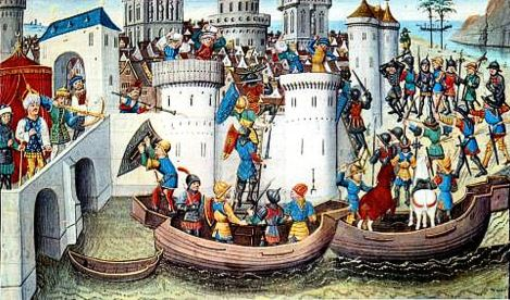 The 4th Crusade Was Christians vs. Christians