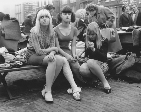 Parisian Girls 1950s (Ed van der Elsken)