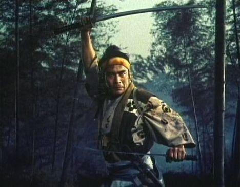 Mifune Toshiro in Hiroshi Inagaki's Duel at Ichijoji Temple