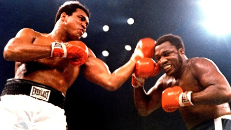 Muhammad Ali Takes Joe Frazier in 14 Rounds (1975)