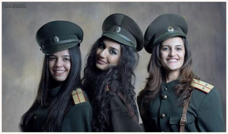Young Armenian Soldiers