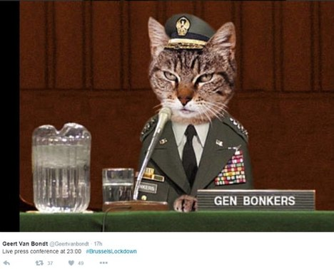 General Bonkers Will Explain the Situation