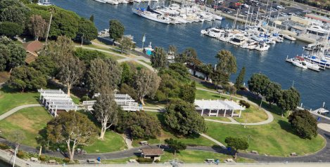 Burton W. Chace Park in Marina Del Rey