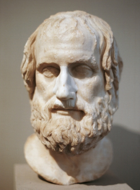 The Greek Playwright Euripides (480-406 BC)