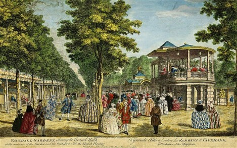 London's Vauxhall Gardens in the 18th Century