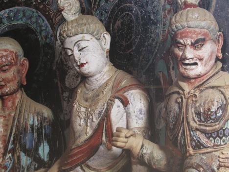 Bodhisattva and Guardian God