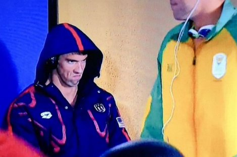 Michael Phelps Introduces a New Rio Meme