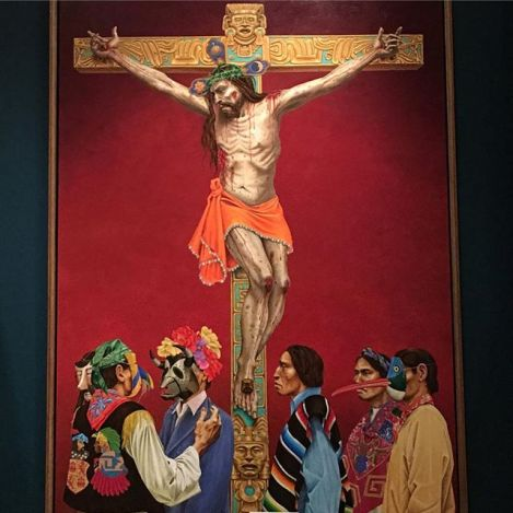 "Paul Pletka's Paintings ""Tears of the Lord"" at the Autry National Center"