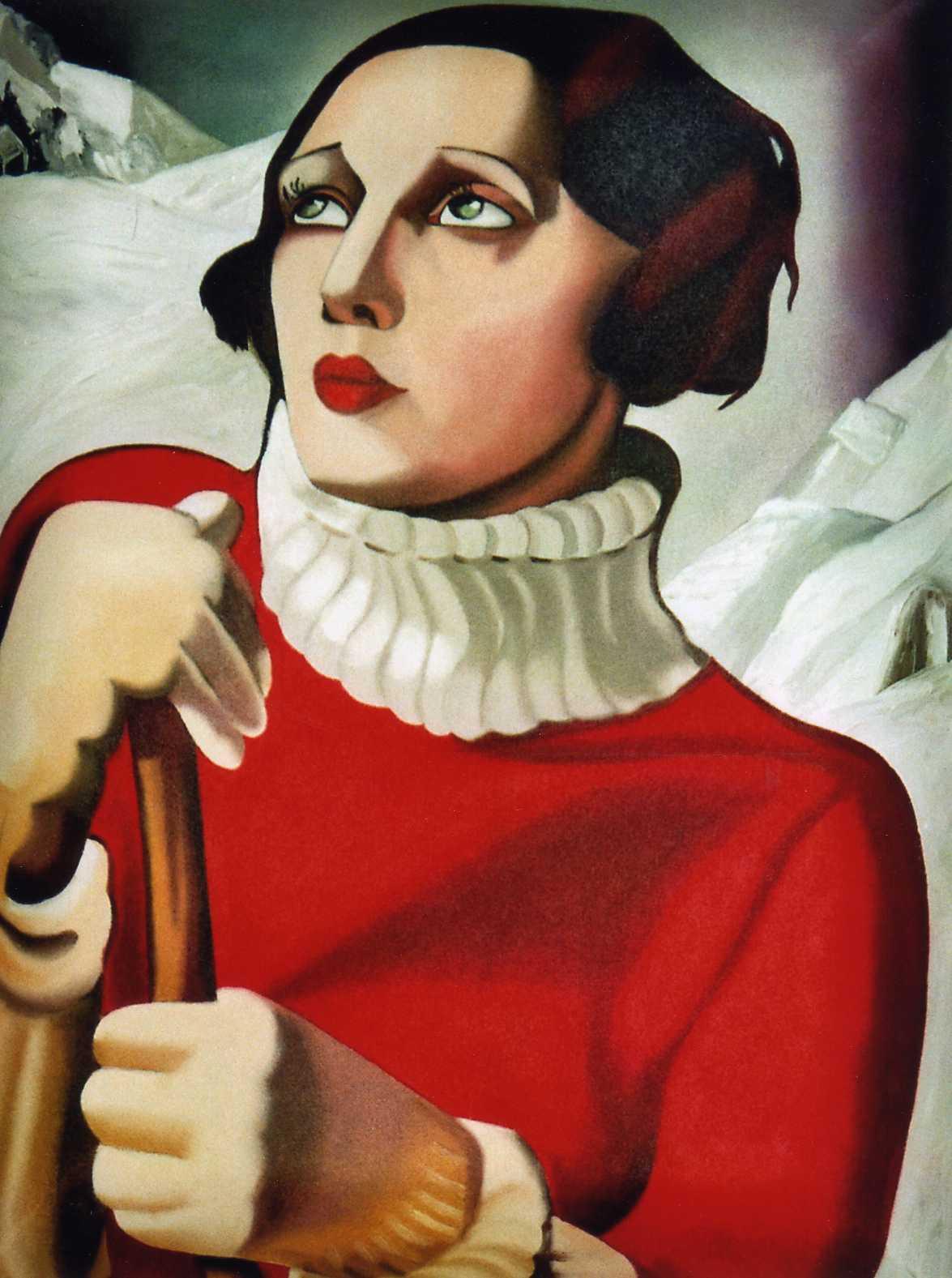 tamara de lempicka Tamara de lempicka (1898-1980), the polish artist whose bold art deco style so  perfectly captured the spirit of the jazz age, was born 120.
