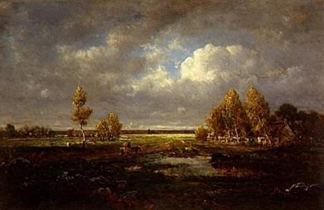 """The Pond Near the Road"" (1848)"