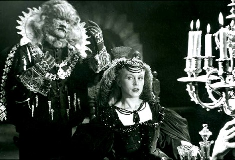 Jean Marais as the Beast and Josette Day as Beauty