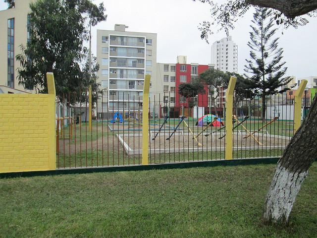 Parque El Carmen in Lima's Pueblo Libre Municipalidad