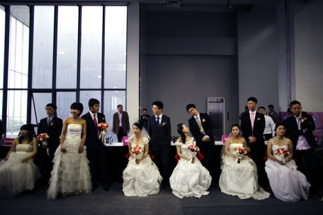 Chinese Mass Wedding