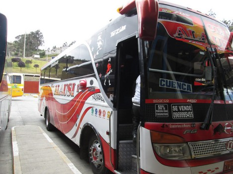 My Bus Back to Cuenca
