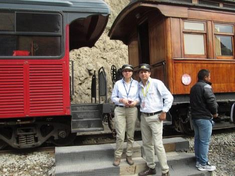 Train Conductors at Sibambe