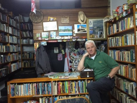 Mark Horton at the English Bookshop