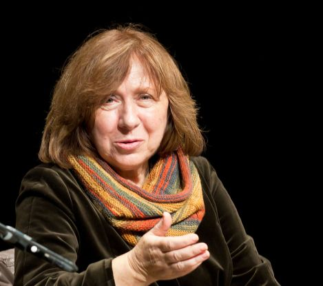 Svetlana Alexievich, Winner of the 2015 Nobel Prize for Literature