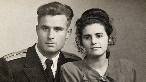 Vasili Alexandrovich Arkhipov and Wife