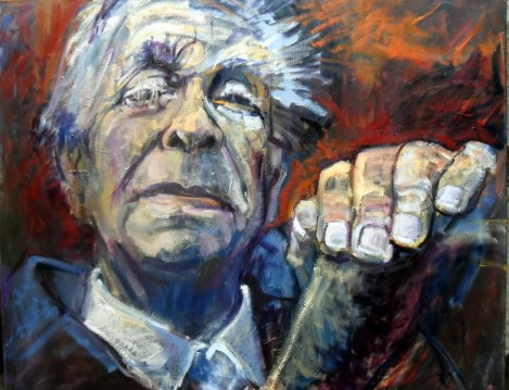 Argentinian Author and Poet Jorge Luis Borges