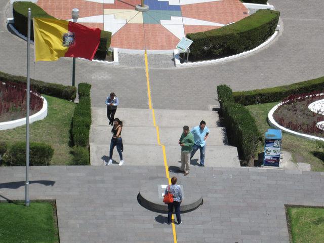 At the Mitad del Mundo
