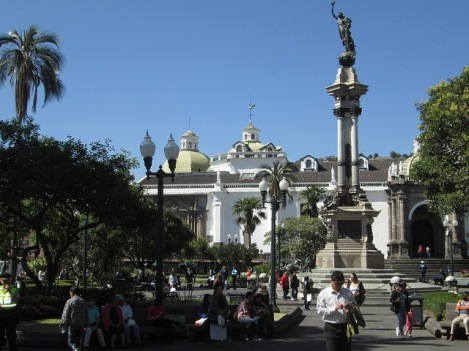 Plaza Independencia in Quito