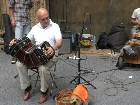 Accordion Player in Downtown Buenos Aires