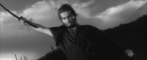 Tatsuya Nakadai in Masaki Kobayashi's Harakii (1962)