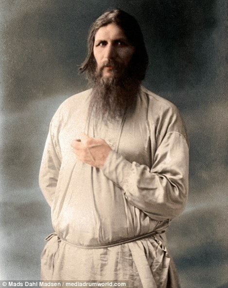 Gregory Rasputin in Color