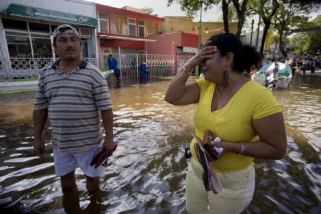 Flooding in the Streets of Villahermosa