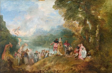 "Antoine Watteau's ""The Embarkation for Cythera"""