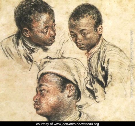 Three Studies of a Young Black Man