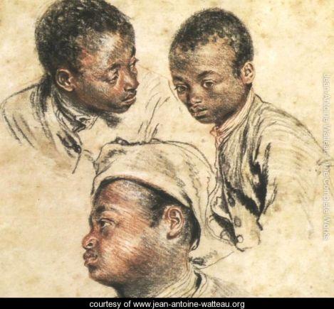 Three Studies of a Young Black Man