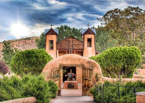 The Church at Chimayo, New Mexico