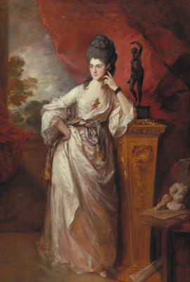 Penelope Pitt, Viscountess Ligonier, by Thomas Gainsborough