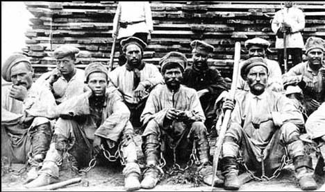 Gulag Prisoners in Siberia