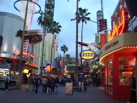 Universal City's City Walk