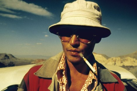 Writer Hunter S. Thompson