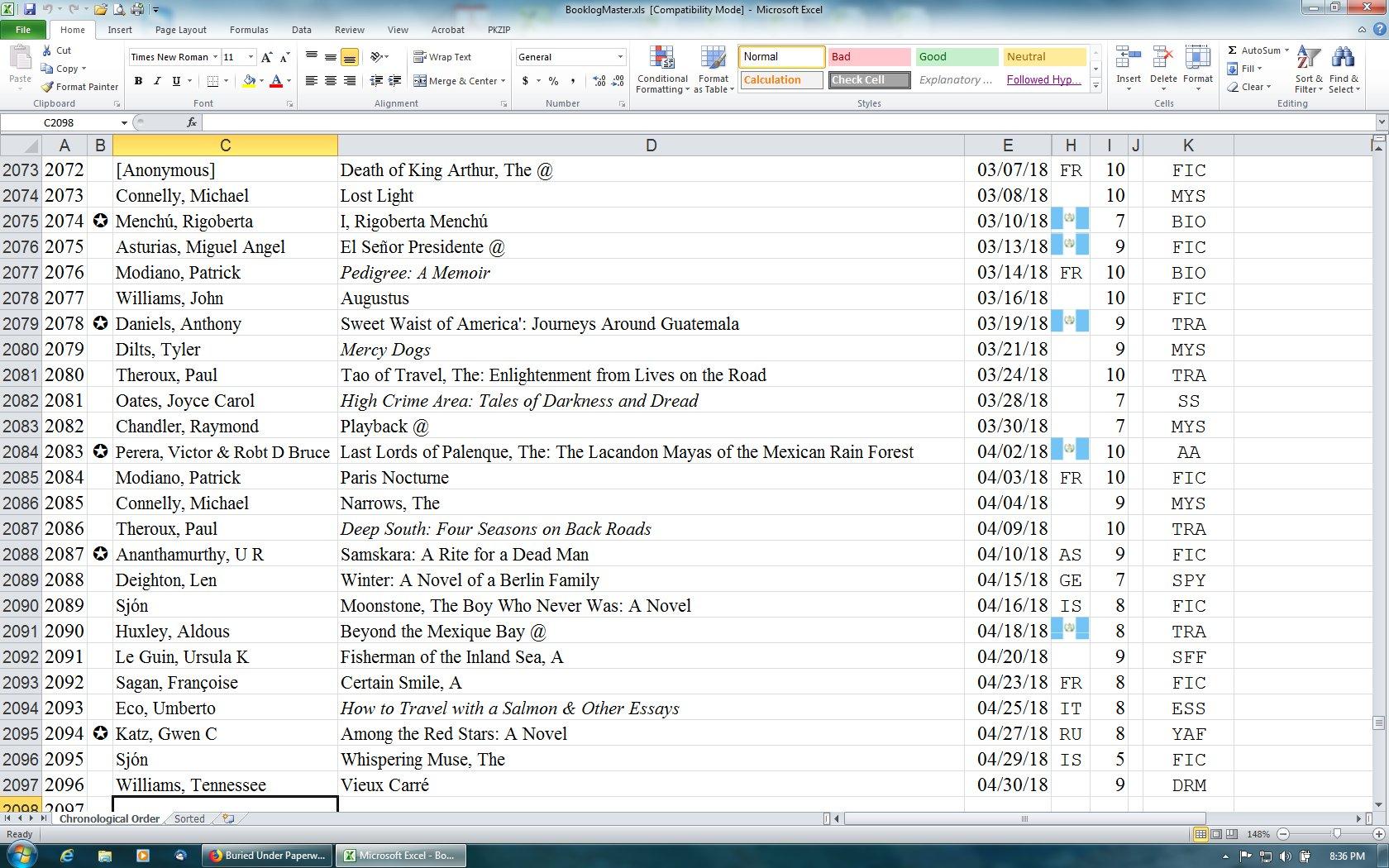 list of 2007 books